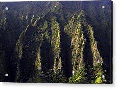 Koolau Range, Oahu Acrylic Print