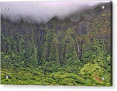Ko'olau Waterfalls Acrylic Print