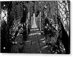 Kootenai Falls Bridge Acrylic Print