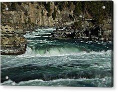 Kootenai Falls, Montana 2 Acrylic Print