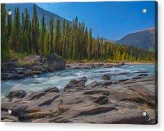 Kootenay River Acrylic Print