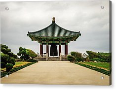 Acrylic Print featuring the photograph Korean Bell Of Friendship by Ed Clark