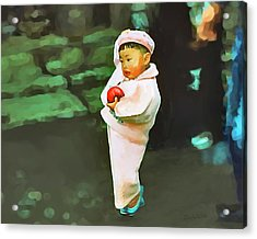 Acrylic Print featuring the photograph Korean Pink by Dale Stillman