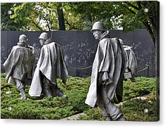 Korean War Memorial 3 Acrylic Print