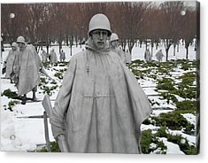 Korean War Memorial Acrylic Print