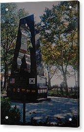 Korean War Memorial Acrylic Print by Rob Hans