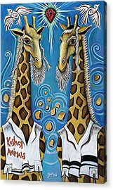 Kosher Animals Acrylic Print