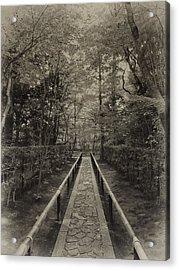 Koto-in Zen Temple Forest Path - Kyoto Japan Acrylic Print by Daniel Hagerman