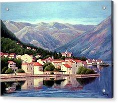 Kotor Montenegro Acrylic Print