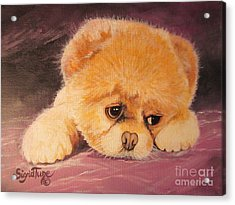 Flying Lamb Productions     Koty The Puppy Acrylic Print