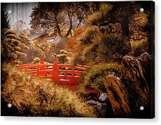 Kowloon - Red Bridge Acrylic Print