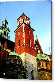 Acrylic Print featuring the photograph Krakow Poland by Michelle Dallocchio