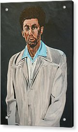 Kramer After Unknown Artist Acrylic Print by Betty-Anne McDonald