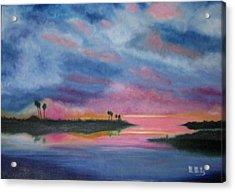 Kramer Island Sunset Acrylic Print