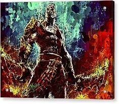 Kratos Acrylic Print
