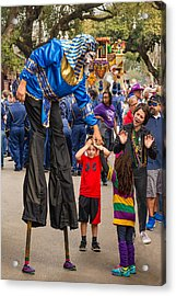 Krewe Of Thoth Greeting Acrylic Print