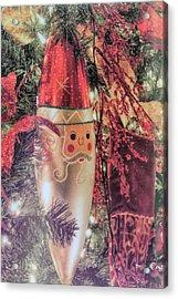 Kringle Jingle Acrylic Print by JAMART Photography