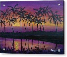 Kristine's Sunset Acrylic Print