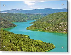 Krka River National Park View Acrylic Print