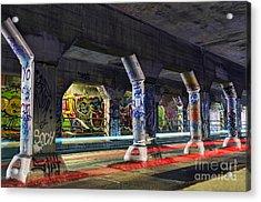 Krog Street Tunnel Acrylic Print