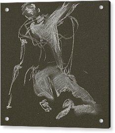 Kroki-2015-04-11-figure-drawing-white-chalk-marica-ohlsson-marica-ohlsson Acrylic Print