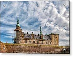 Acrylic Print featuring the photograph Kronborg Castle In Denmark by Antony McAulay
