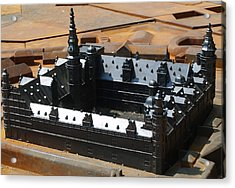 Kronborg Slot Acrylic Print by Michael Canning