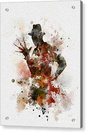 Krueger Acrylic Print by Rebecca Jenkins