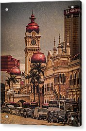Kuala Lumpur, Malaysia - Red Onion Domes Acrylic Print