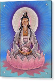 Kuan Yin Acrylic Print