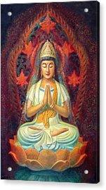 Kuan Yin's Prayer Acrylic Print