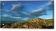 Kuipers' Peak In The Sun Acrylic Print