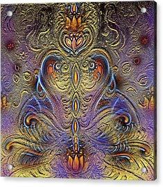 Kundalini  Acrylic Print by Harsh Malik