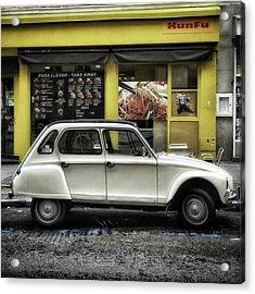 Kunfu Car #2cv #dyane #dyane6 Acrylic Print