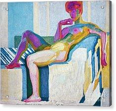 Kupka Planes Nude Acrylic Print by Granger