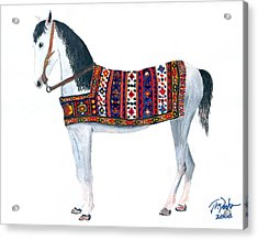 Kurdistan Pony Acrylic Print