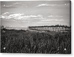 Kure Beach Pier Acrylic Print