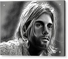 Kurt Cobain- Nirvana Acrylic Print