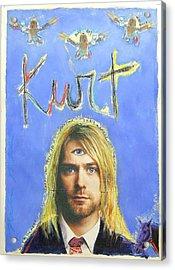 Kurt Acrylic Print by Mike  Mitch