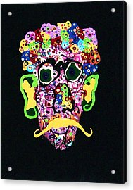 Kurt Vonnegut Jr. Acrylic Print