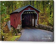 Kurtz Mill Covered Bridge Acrylic Print