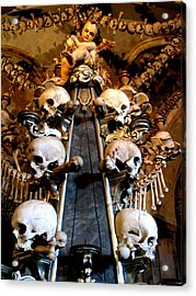 Acrylic Print featuring the photograph Kutna Hora Cz by Michelle Dallocchio