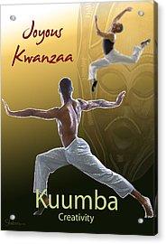 Kwanzaa Kuumba Acrylic Print