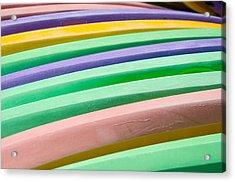 Kyak Rainbow Acrylic Print