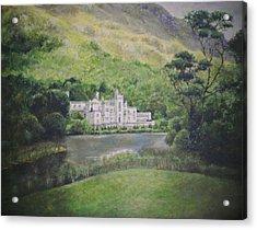 Kylemore Abbey Acrylic Print by Cynthia Satton
