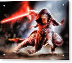 Kylo Ren I Will Fulfill Our Destiny Acrylic Print