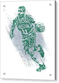 Kyrie Irving Boston Celtics Water Color Art 2 Acrylic Print