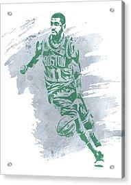 Kyrie Irving Boston Celtics Water Color Art 3 Acrylic Print