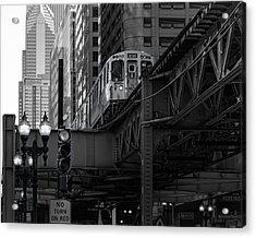 L Train Acrylic Print