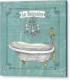 La Baignoire Acrylic Print by Debbie DeWitt